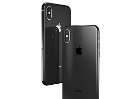 建模+渲染-iPhone X