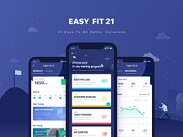 EASY FIT 21 UI Design