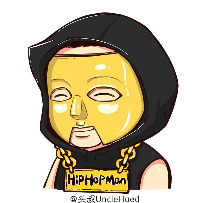 中国有头像僧侣|肖像|嘻哈动漫|头叔UncleHead漫画漫画在线图片