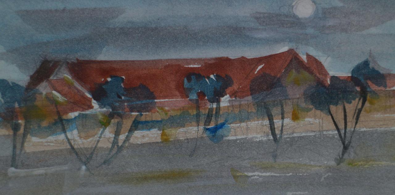 柬埔寨绘画旅行日记
