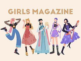 2020美妆好物节-人物设计篇