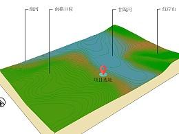 地形分析图小例