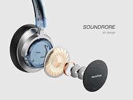 一组耳机产品表现