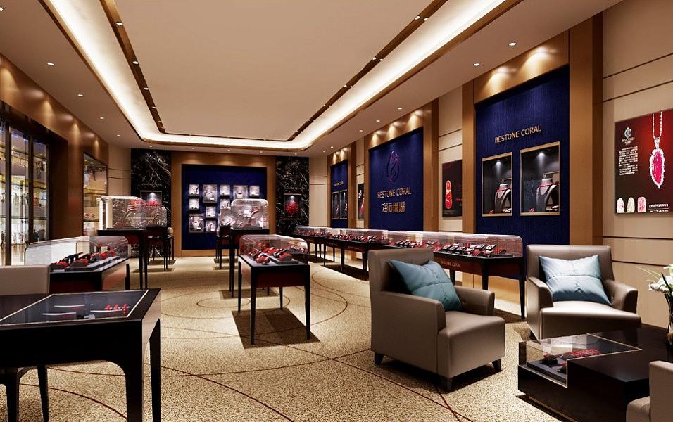 珠宝店装修造型不宜复杂