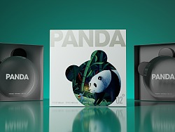 酒包装-熊猫PANDA白酒包装设计