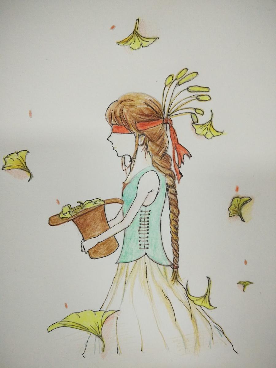 手绘练习|绘画习作|插画|纸鸢天涯20 - 原创设计作品
