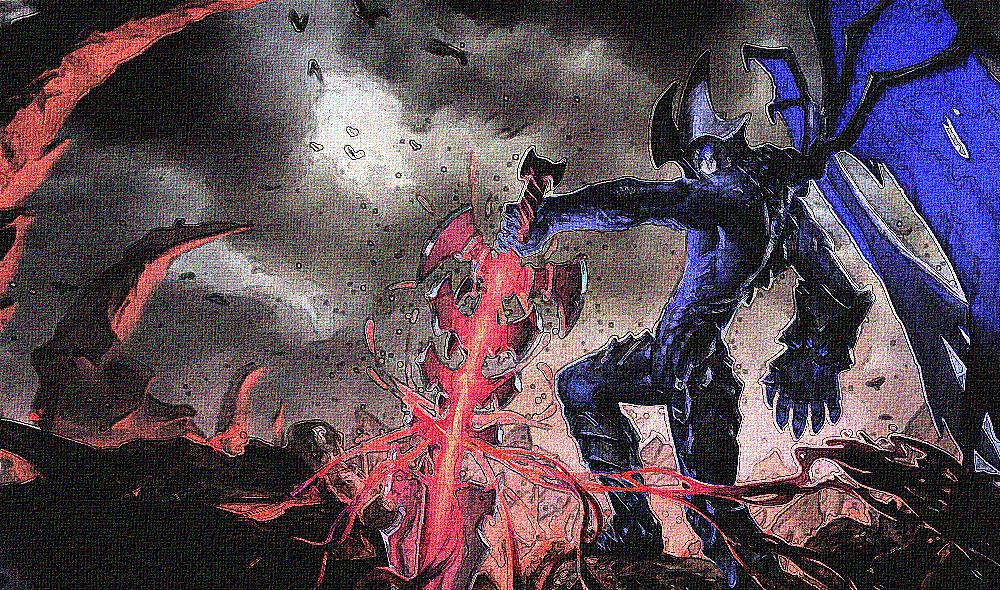 蓝血剑魔图片