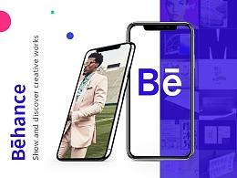 < Behance > Redesign