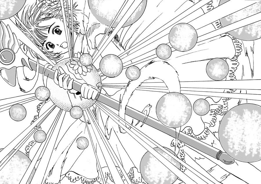 魔卡少女樱临摹|绘画习作|插画|八风