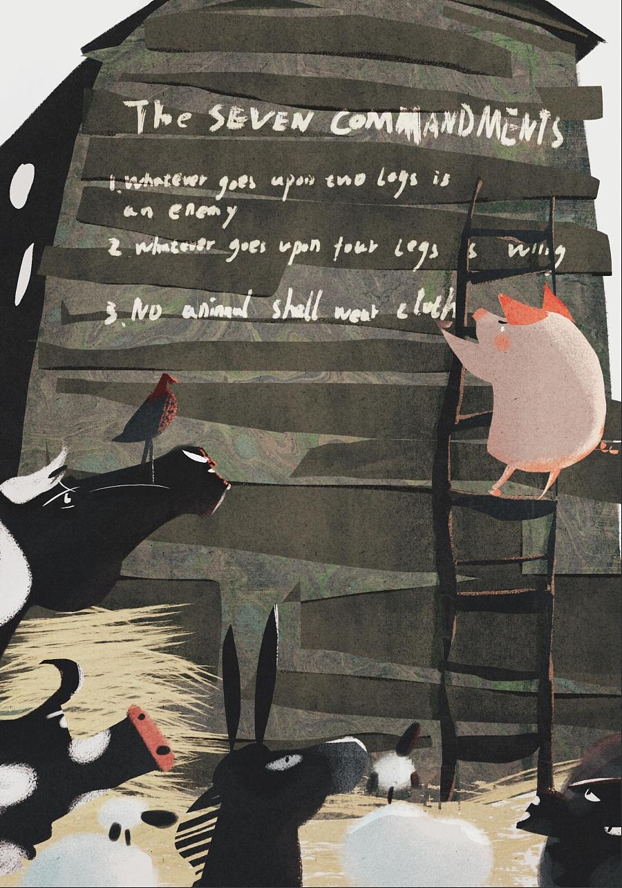 查看《百词斩阅读计划-《动物庄园》封面以及插图》原图,原图尺寸:1678x2394