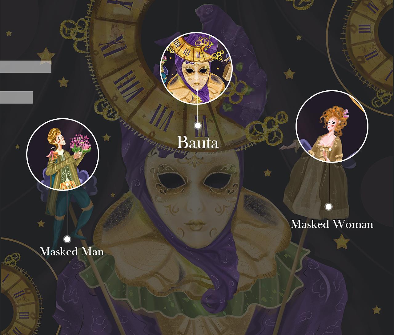 埃及王子主题歌_Mask-趣味面具|插画|插画习作|清芽目YamuQ - 原创作品 - 站酷 (ZCOOL)
