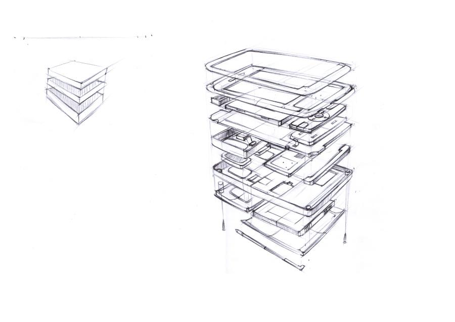 产品手绘,设计的精妙之处.