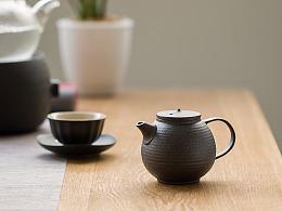 【电商】黑陶茶壶 茶具