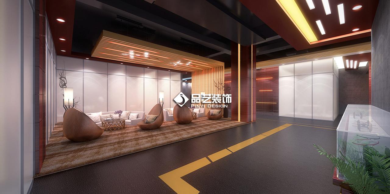 湛江健身房瑜伽工作室装修设计效果图|空间|室
