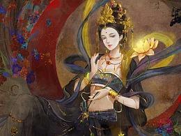 石壁仙女-月神