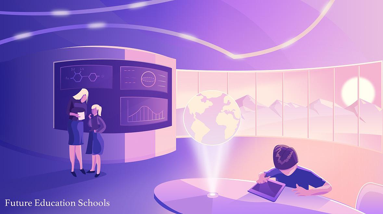 未来教室图片