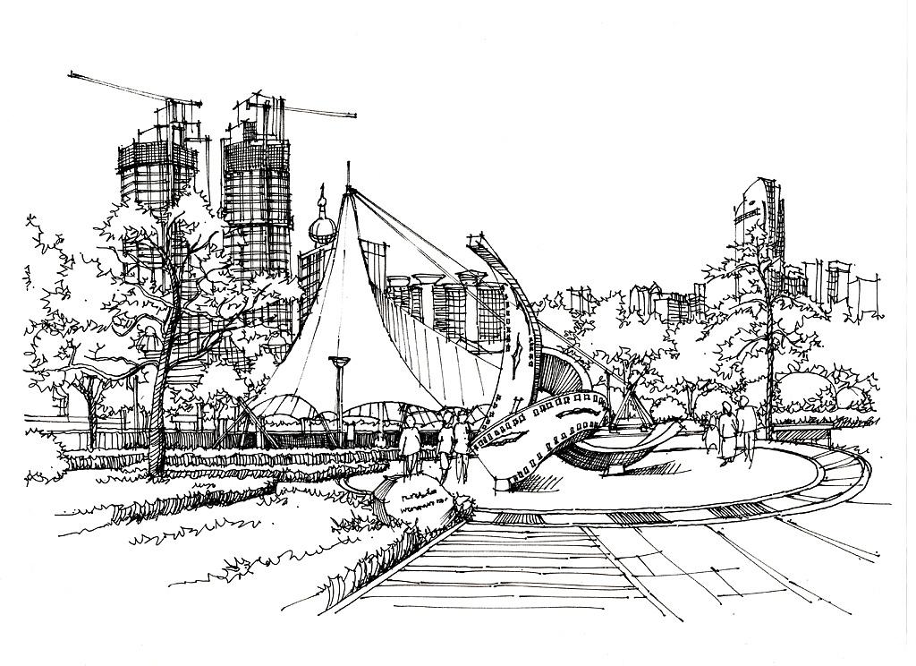 青岛七月广场手绘作品青岛手绘培训组
