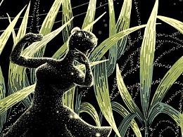 甘蔗田 · Sugercane 点画