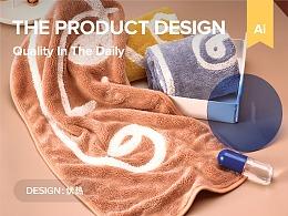 【产品设计】品质居家生活用品视觉设计