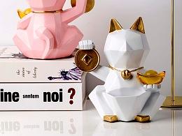 产品拍摄•招财猫