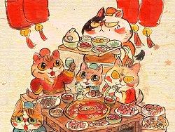 吃吃喝喝最开心
