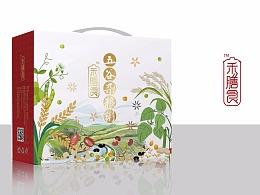五谷粉品牌包装设计