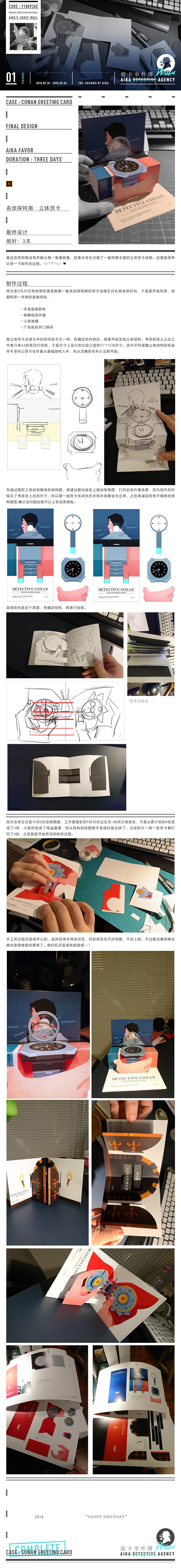 查看《礼品设计-| 名侦探柯南立体贺卡 |》原图,原图尺寸:900x7800