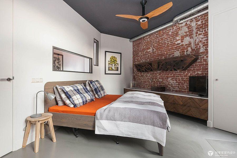 【室内设计橱窗图】实景里的空间结合新旧|nb室内设计图片