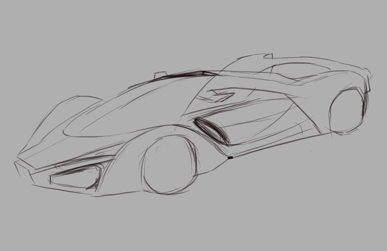 法拉利跑车f80