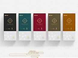 博杏霖品牌:五行茶茶类包装