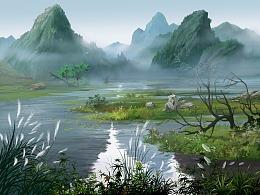 一卷花溪·隐世界