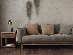 南风沙发|现代居室中的侘寂营造