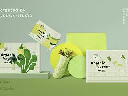 有食×春芽-品牌包装设计及产品拍摄全案