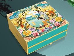 巨灵设计:专注食品包装-月饼礼盒设计