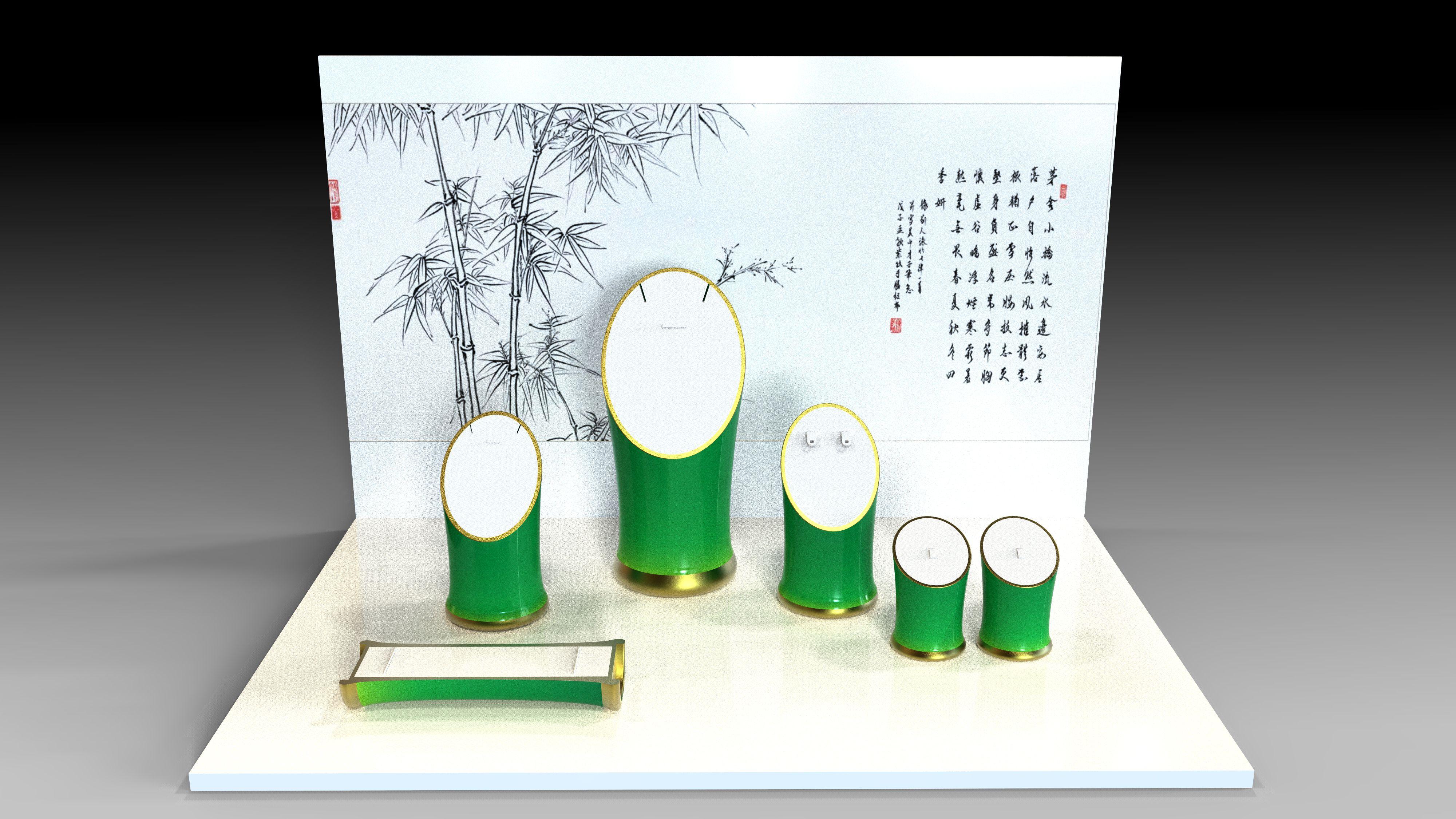 珠宝道具包装设计图片
