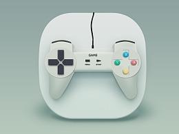 写实临摹-游戏手柄icon