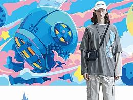 Sank Toys×GUUKA 2020春夏服装联名