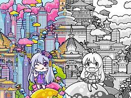 Gowild狗尾草-国庆系列海报