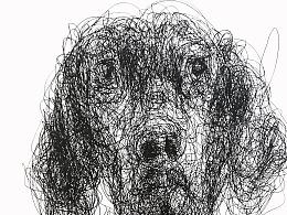 隨寫-畫狗