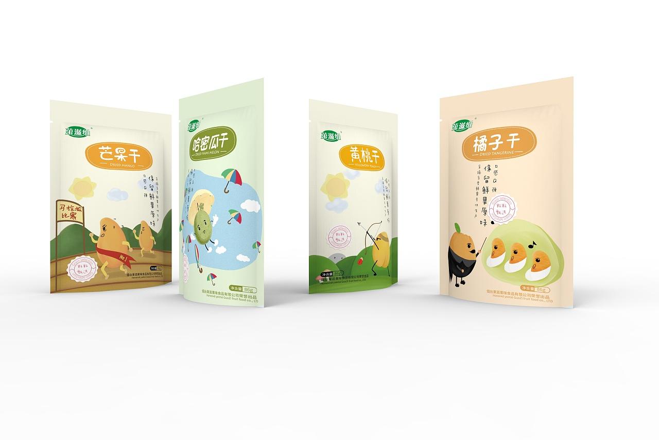 干果包装设计 坚果包装 零食 零食包装 食品包装图片