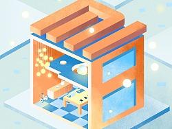 小米 印度app3.0 新手引导页 插画+创意构思
