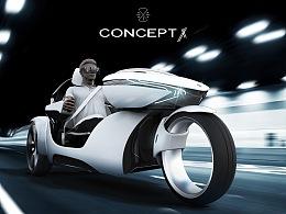 CONCEPT X —— 概念摩托跑车