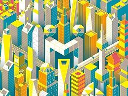 缤纷麦本城-系列图案设计