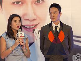 冯绍峰与某拉面品牌签约发布会(部分图片)