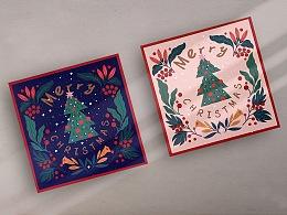圣诞烘焙礼盒包装设计