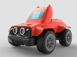 小喵科技的steam编程小车玩具
