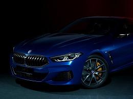 BMW 8 Raytracing CGI