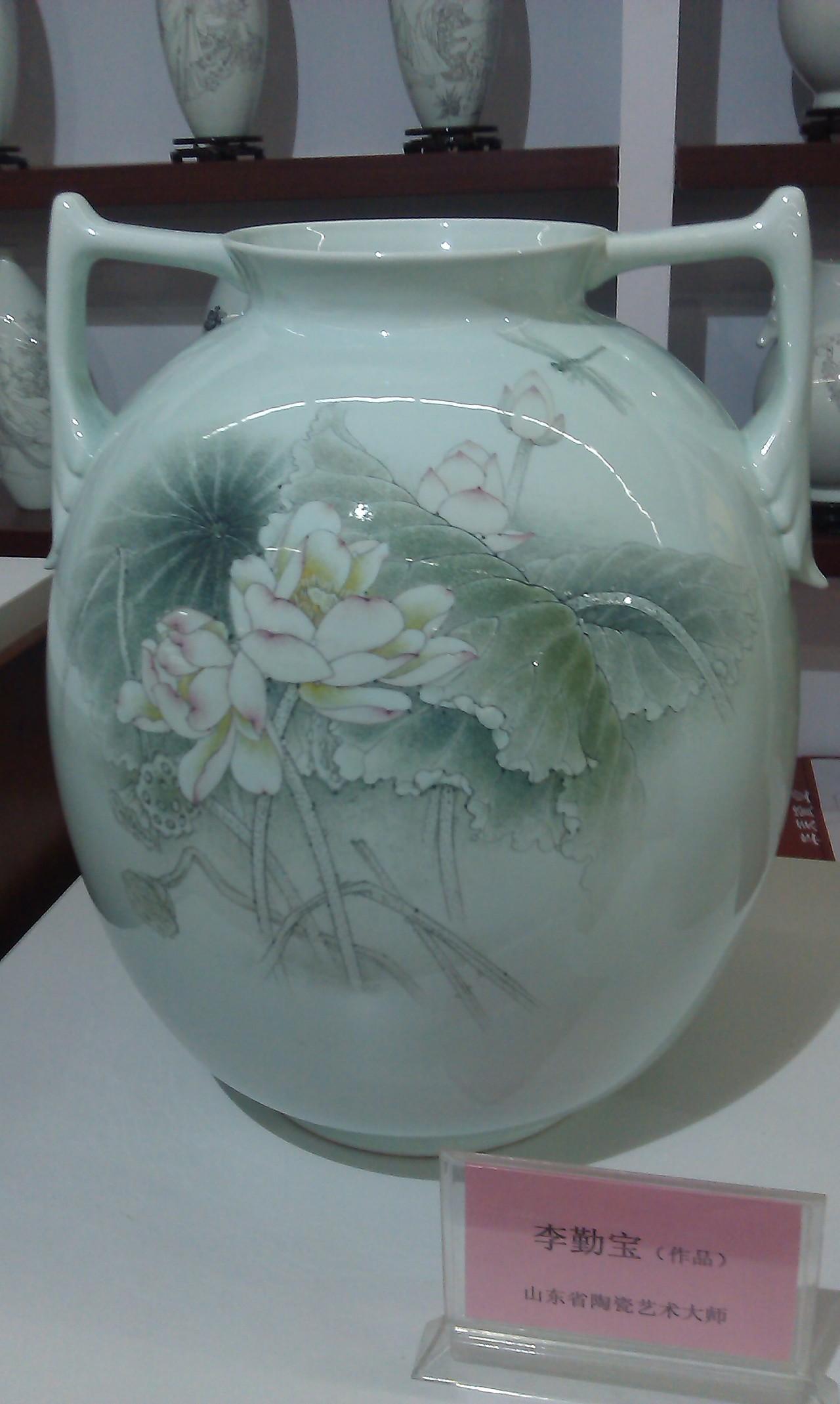 淄博陶瓷模特彩绘