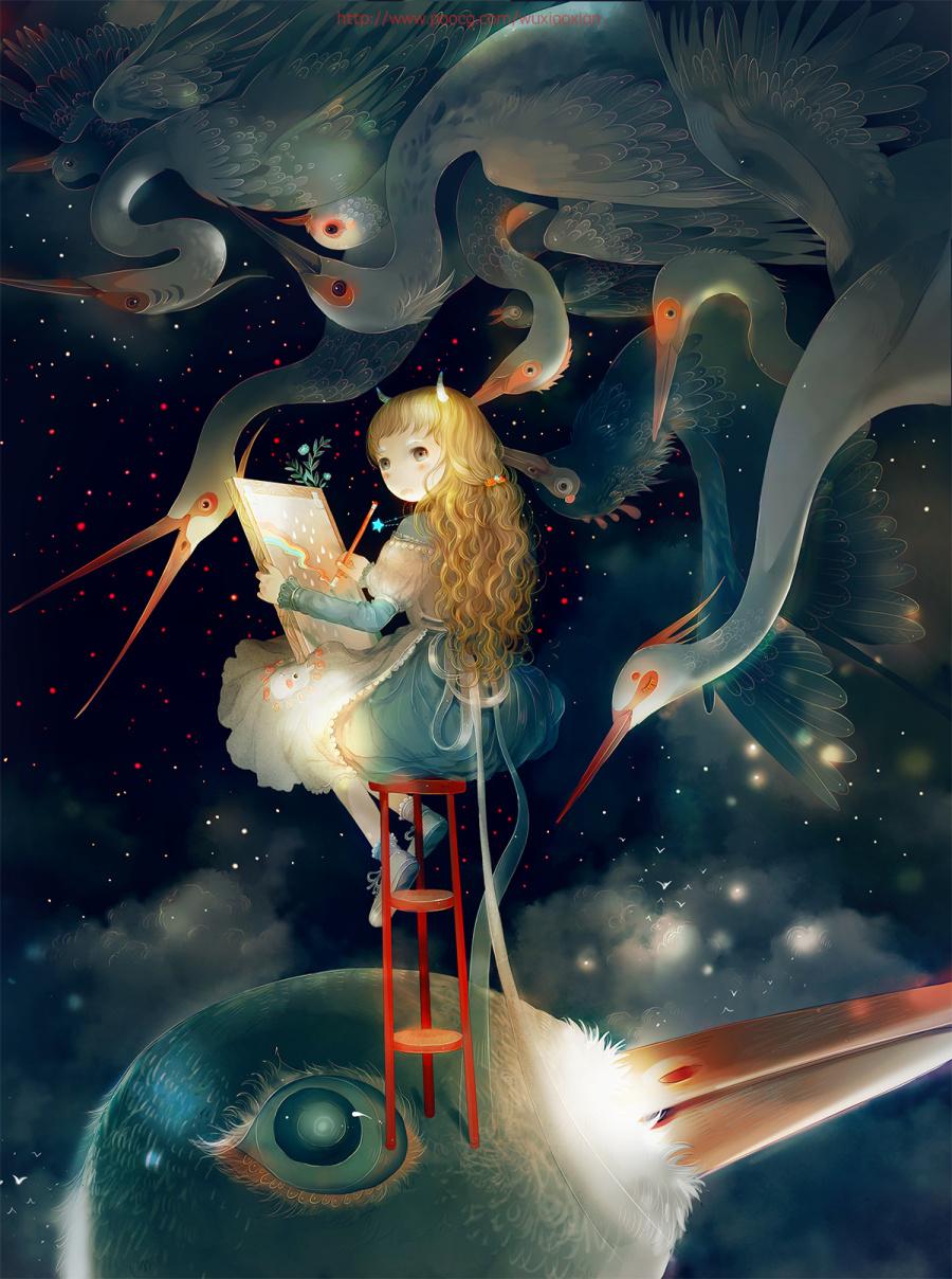 《最小说》的几张封面 商业插画 插画 舞小仙 -
