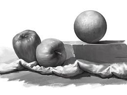 黑白素描练习